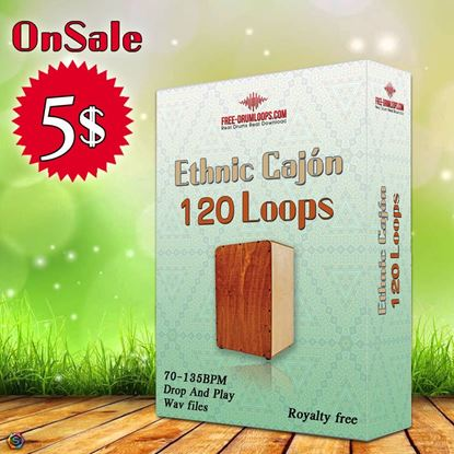 Picture of 120 Ethnic Cajon Loops Bundle
