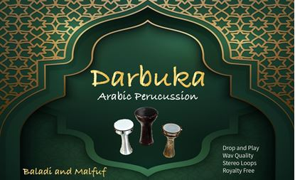 Picture of 90 bpm Darbuka loops